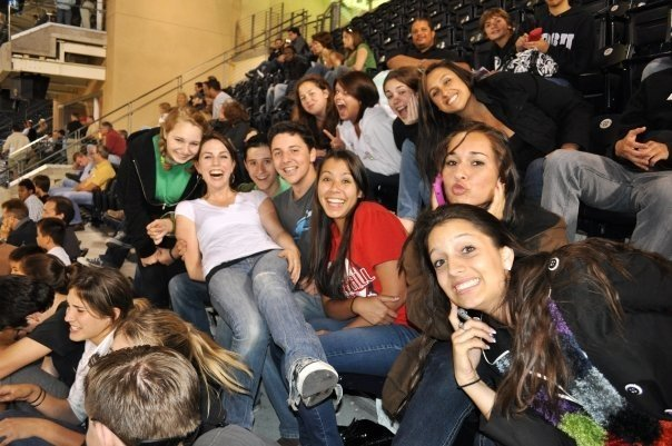 RENT Cast at the Padres!
